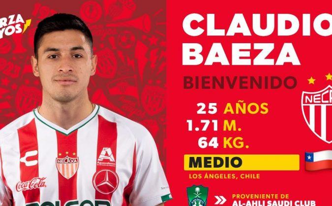 Claudio Baeza es nuevo refuerzo de Necaxa