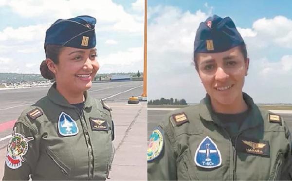 Mujeres pilotarán por primera vez aviones en el desfile militar